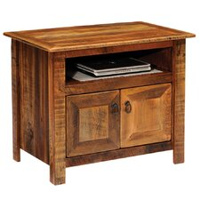 "<strong>Fireside Lodge</strong> Barnwood 34"" TV Stand"