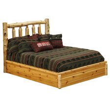 <strong>Fireside Lodge</strong> Cedar Platform Bed