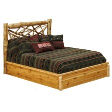 <strong>Fireside Lodge</strong> Cedar Twig Platform Bed