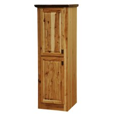 <strong>Fireside Lodge</strong> Hickory Linen Cabinet
