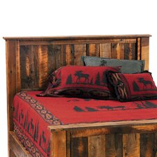 <strong>Fireside Lodge</strong> Reclaimed Barnwood Panel Headboard