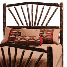 Hickory Sunburst Headboard