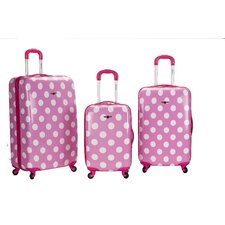 <strong>Rockland</strong> Laguna Beach 3 Piece Upright Luggage Set