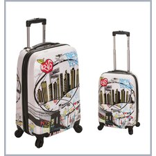 <strong>Rockland</strong> 2 Piece Luggage Set
