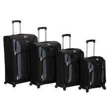 Impact 4 Piece Spinner Luggage Set