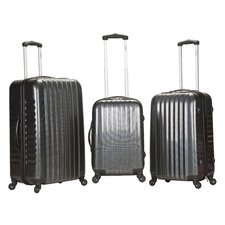 Carbon Fiber 3 Piece Luggage Set