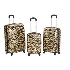 <strong>Rockland</strong> Leopard 3 Piece Upright Set