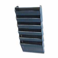 <strong>Rubbermaid</strong> Classic Hot File Wall File Systems, Letter, Seven Pockets, Smoke