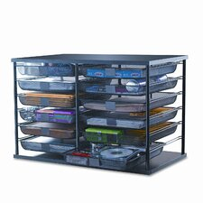 <strong>Rubbermaid</strong> 12-Compartment Organizer with Mesh Drawers