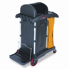 "Commercial High-Security Healthcare 40"" Cleaning Cart"