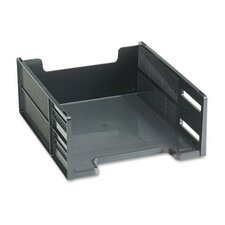 <strong>Rubbermaid</strong> Stackable High Capacity Front Load Letter Tray