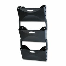 <strong>Rubbermaid</strong> Ultra Hot File 3 Pocket Wall File Set, Letter