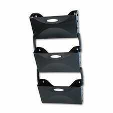 <strong>Rubbermaid</strong> Ultra Hot File 3 Pocket Wall File Set, Legal