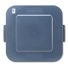 "Commercial Square Brute Lid, 26"" Wide"