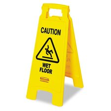 <strong>Rubbermaid</strong> Commercial Caution Wet Floor Floor Sign
