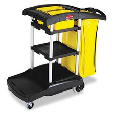 Commercial High Capacity Cleaning Cart