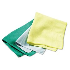 <strong>Rubbermaid</strong> Commercial Reusable Cleaning Cloths, Microfiber, 12/Carton