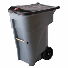 Big Wheel Roll-Out Container, Gray
