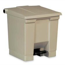 Step-on Waste Containers, Beige