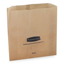 Waxed Receptacle Bags,  250 Bags per Carton