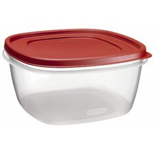 14 Cup Rectangular Food Storage Container with Lid