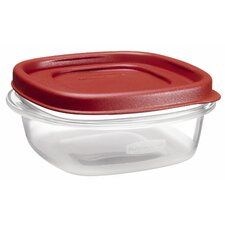 1.25 Cup Square Easy Find Container with Lid