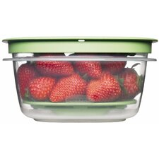 5 Cup Square Produce Saver Food Storage Container