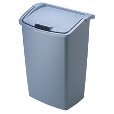 45 Quart Bisque Dual Action Wastebasket (Price for 1, Order Quantities of 6)