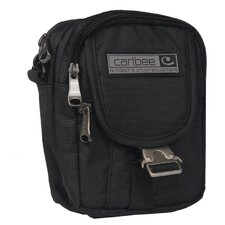 Small Global Organizer in Black