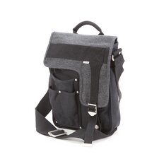Deployment Messenger Bag in Black