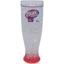 NFL New York Giants Superbowl XLVI Champions 16 oz. Ice Pilsner Glass