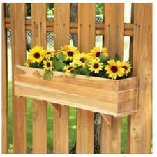 "7.75"" Rectangular Window Box Planter"