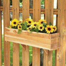 "7.75"" Rectangular Window Box Planter"