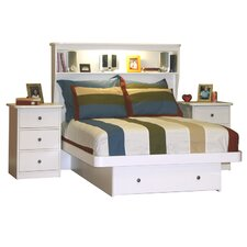 Sierra Full Storage Platform Bed