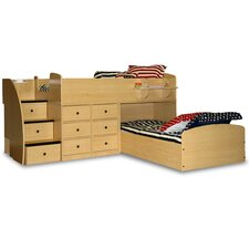 Sierra Captain L-Shaped Captain Bed with Stairs and Storage