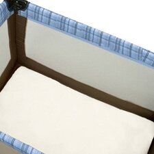 <strong>Baby Luxe by Priva</strong> Certified Organic Cotton Play Yard Sheet with Safety Corners in Natural