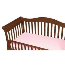 <strong>Baby Luxe by Priva</strong> Jersey Knit Cotton Crib Sheet with Safety Corners