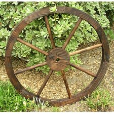 Wagon Wheel Trellis Feeder
