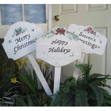 Stake Christmas Decoration (Set of 12)