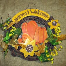 Harvest Welcome Wreath