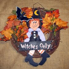 Witches Only Wreath