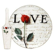 Love Letters Cake Plate and Server