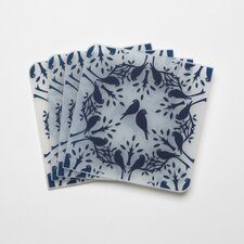 <strong>Modern-Twist</strong> Coaster Notz Birds n Trees Coasters (Set of 4)