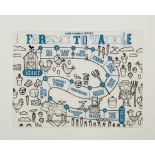 <strong>Modern-Twist</strong> Farm to Table Placemat