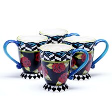 Classic Rose 16 oz. Mug (Set of 4)