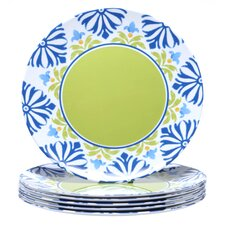 "Mediterranean 11"" Dinner Plate (Set of 6)"