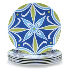 "Mediterranean 9"" Salad Plate (Set of 6)"