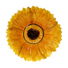 "French Sunflowers 15.25"" Platter"