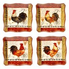 Tuscan Rooster Dinnerware Set