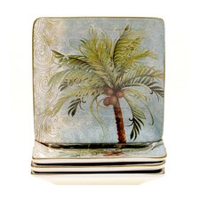 "Key West 6"" Canape Plate (Set of 4)"